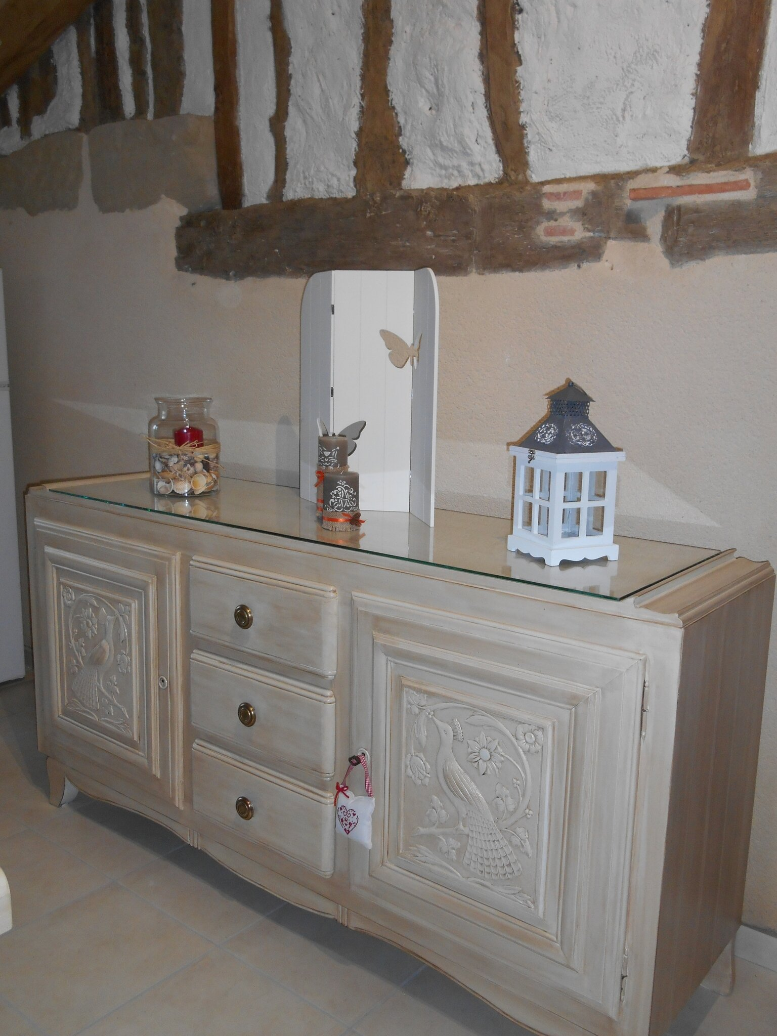 Relook Bois Craie Fabulous Le Buffet Mado Anmone With