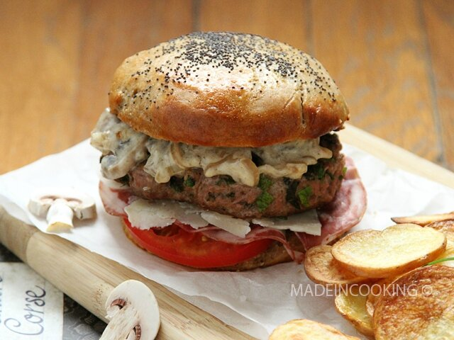 Burger 224 La Corse Made In Cooking