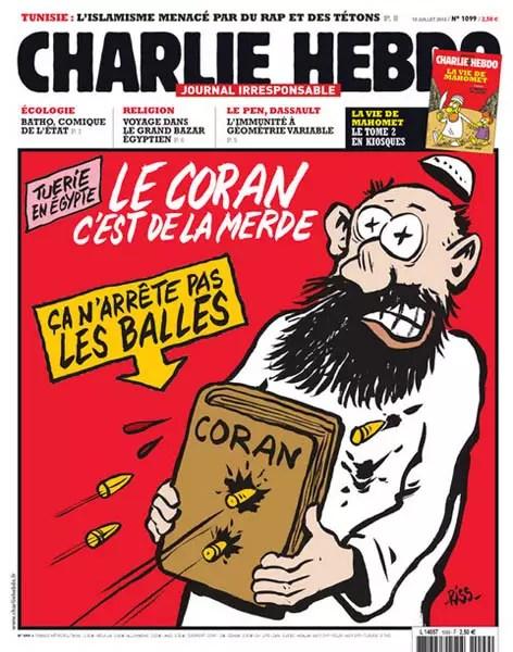 Charlie Ebdo Charge