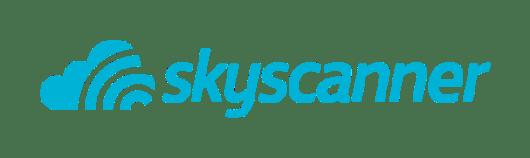 Resultado de imagem para skyscanner logo