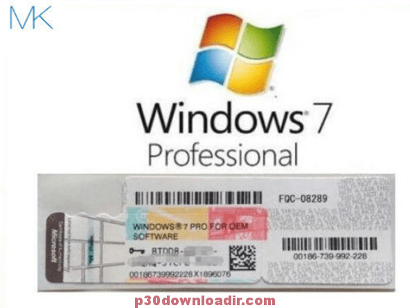Windows 7 2020 Professional Product With Activation Key Free Download