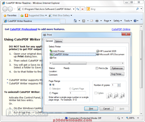 CutePDF Pro Activation and Serial Key Free Download