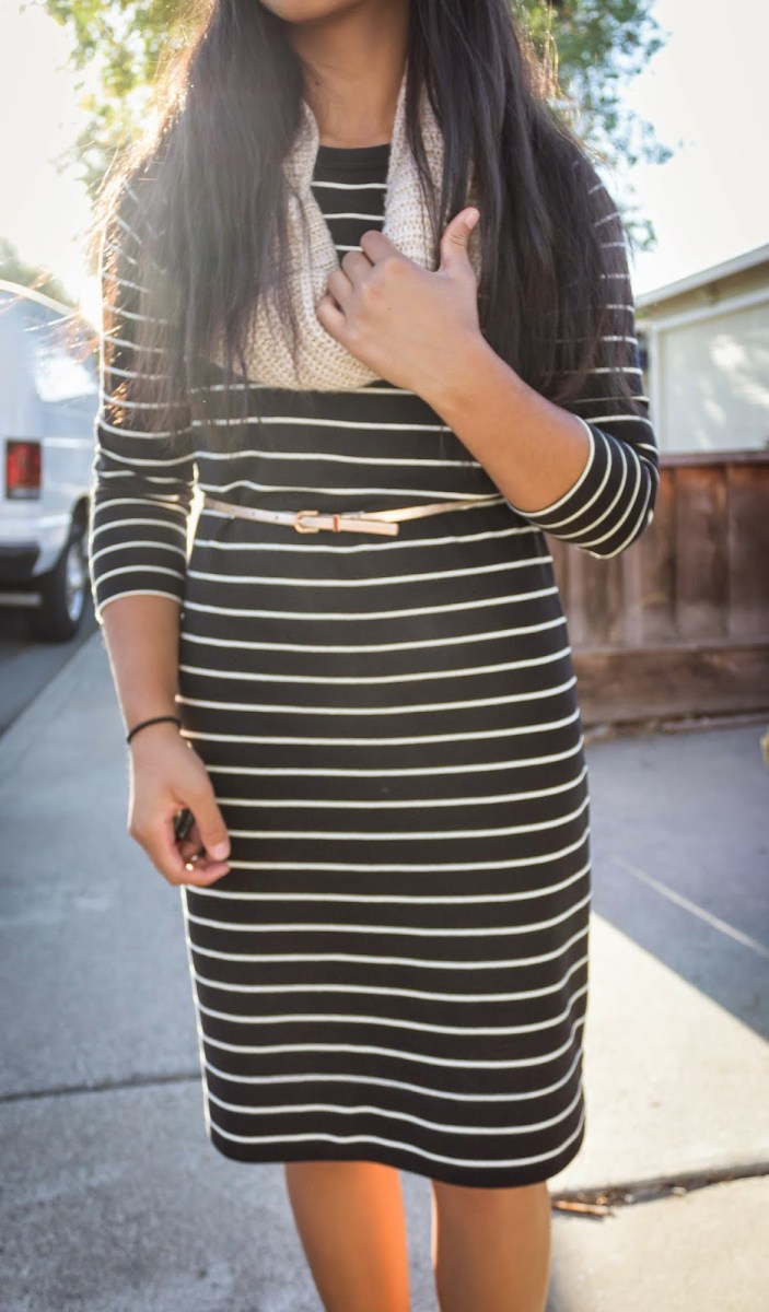 stripes + blush