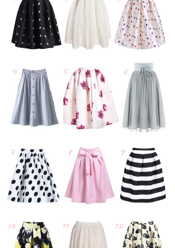 50 Best Midi Skirts Under $25 for 2020