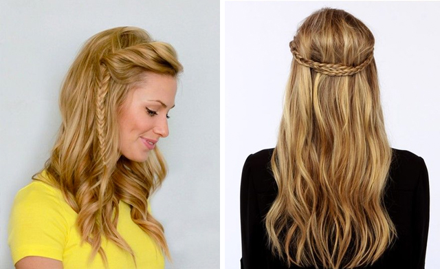 hair3 - 22 Quick & Easy Hairstyles for School