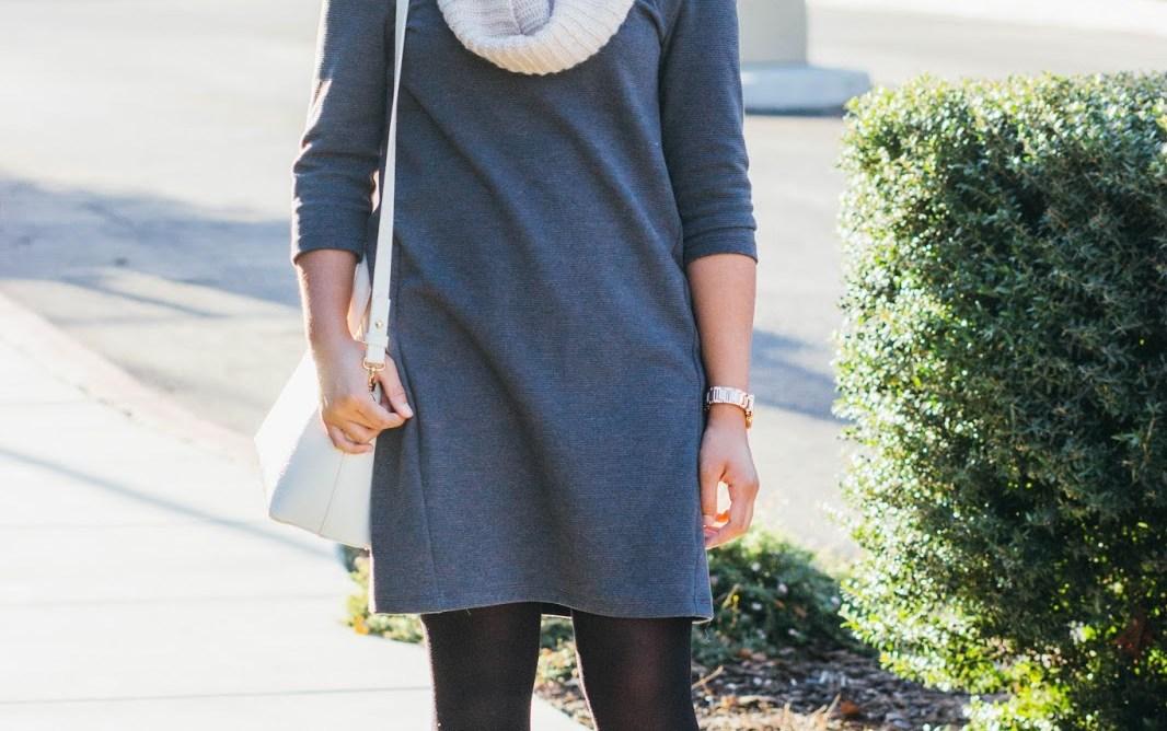 IMG 3231 1 - Gray Shift Dress