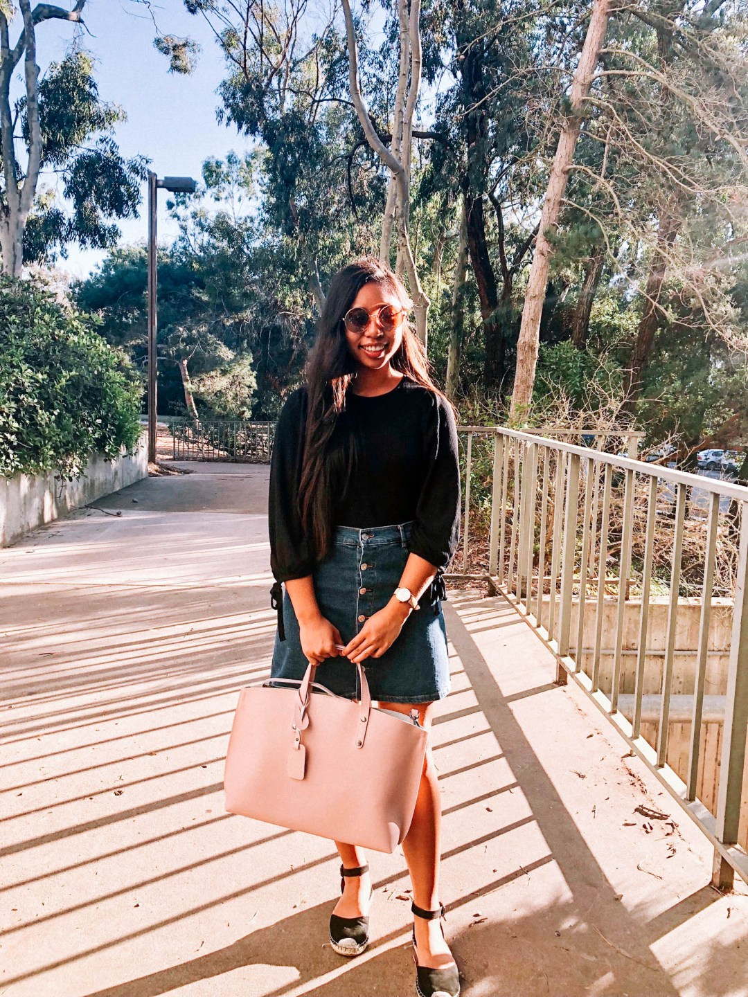 IMG 3446 - What I Wore This Week in College | Spring Outfits for School