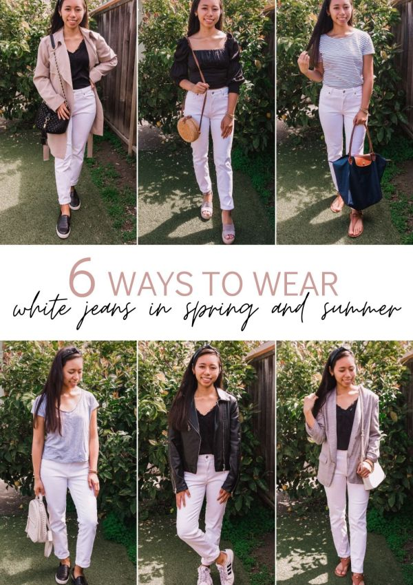 How to Wear White Jeans this Spring and Summer