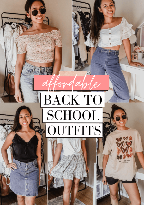 5 Back to School Outfits | Affordable Daily Looks #1