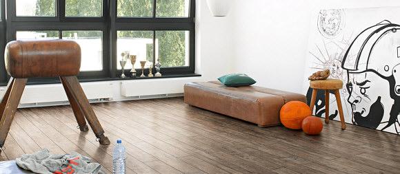 Fußbodenbelag Neuheiten ~ Moderner bodenbelag für die küche u aktuelle trends und neuheiten