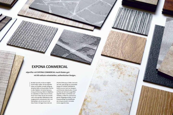 Objectflor Expona Commercial - 80 herausragende Bodenbelag Dekore