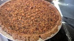 The paleo maple walnut pie