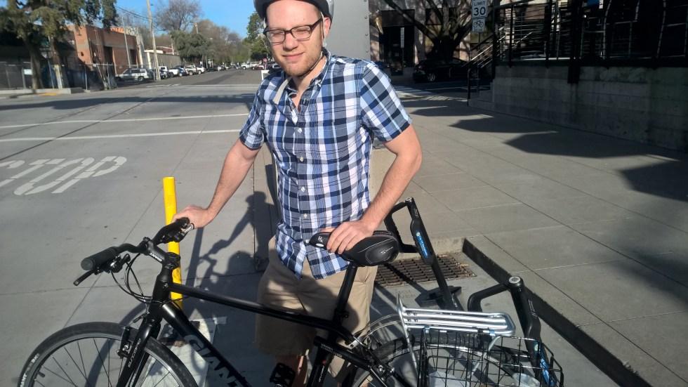 Jesse's new bike
