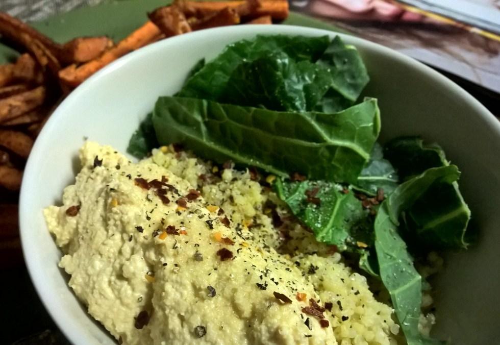 Hummus Millet Protein Bowl
