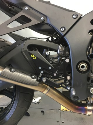 Lightech motorcycle race rear sets Liverpool Merseyside P3Tuning
