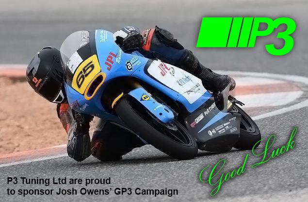 Josh Owens British Superbikes 2016 P3Tuning