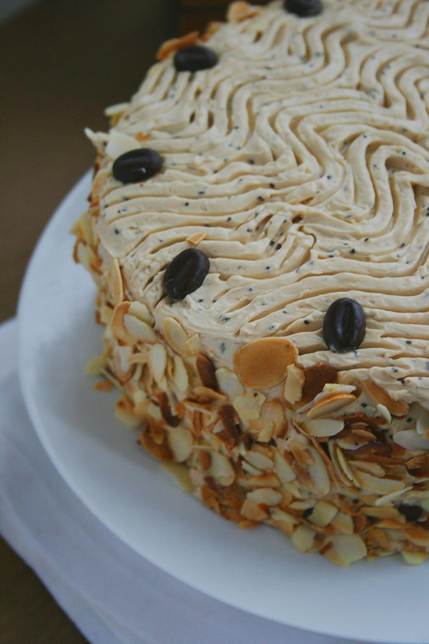 Le Moka Layer Cake Ou Gteau Tages Au Caf Passion