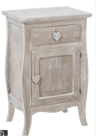 meubles chambre bois ceruses cote coeur