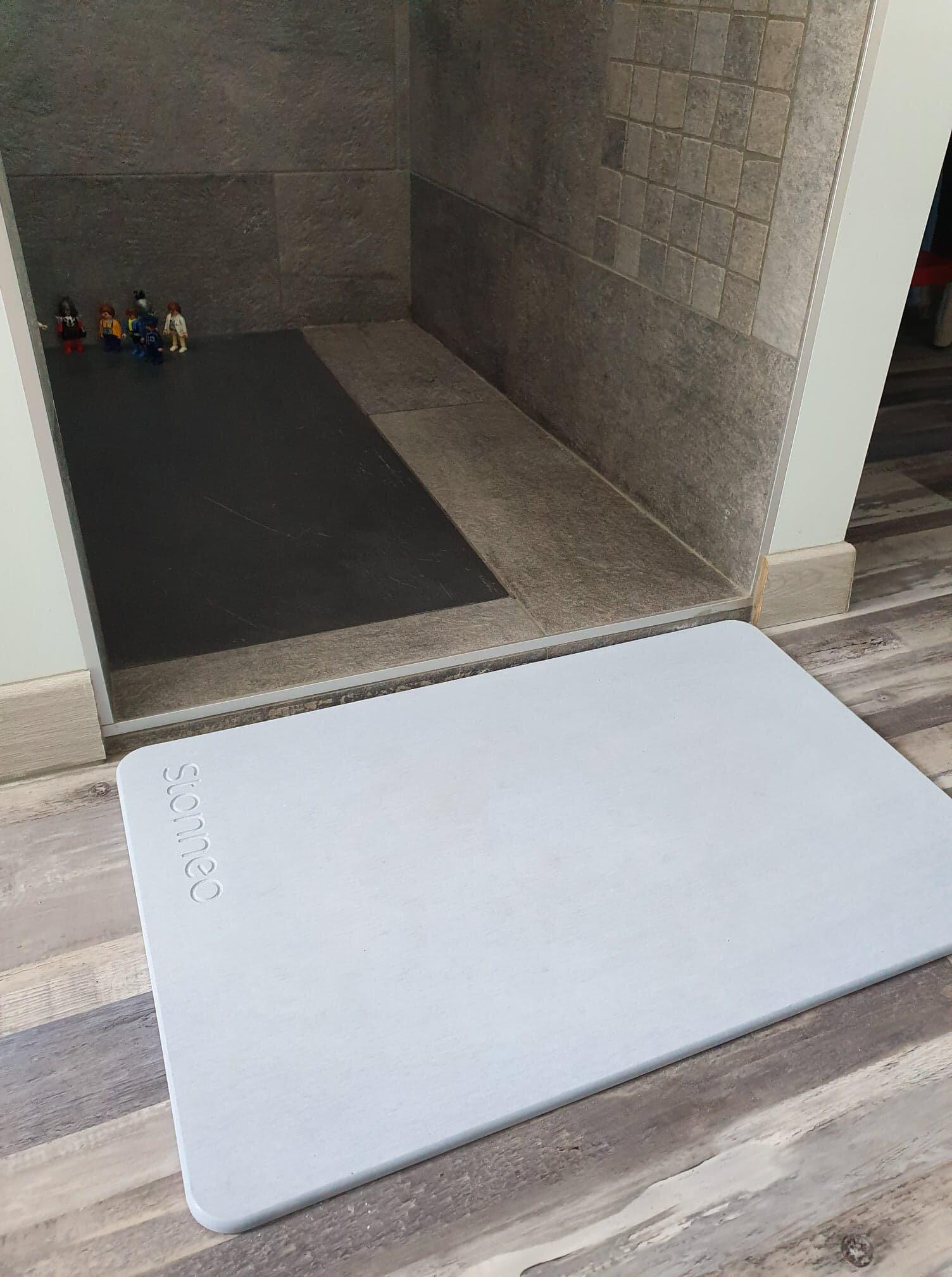 tapis de diatomite pour salle de bain