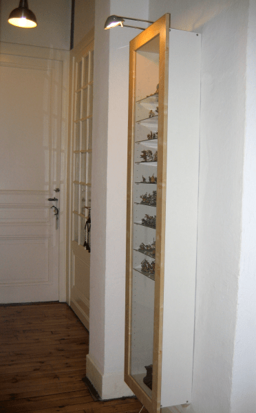 eclairage vitrine a figurines journal