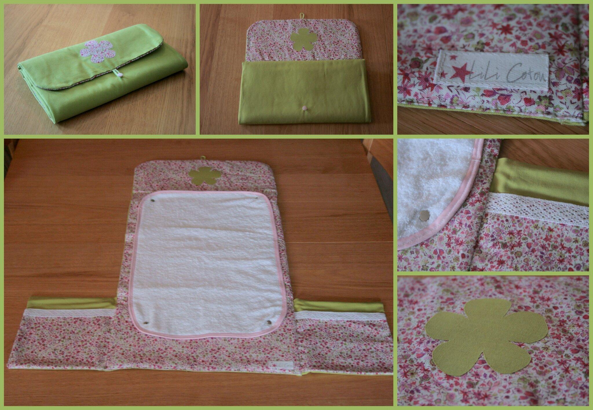 le tapis a langer nomade lili coton