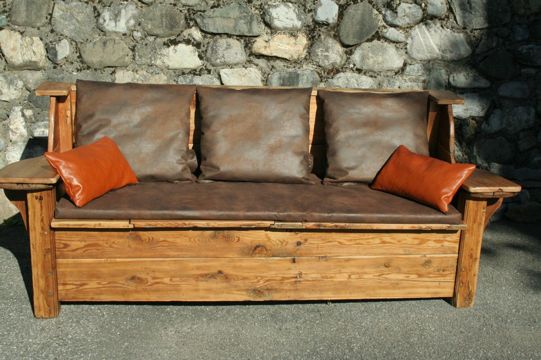 Canape Vieux Cuir