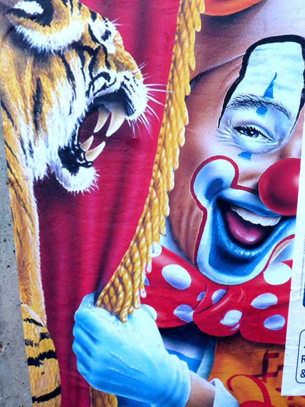Le Cirque Saffiche Les Collages De Valrie