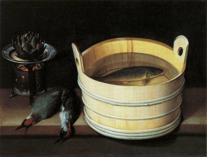 Pivert et baquet, hst 54,5 x 73cm kunstmuseum Bâle