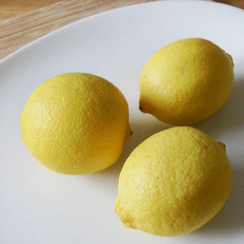 citrus limon citron jaune