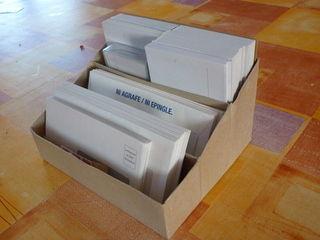 Trieur A Enveloppes En Boites Demballages Recyclage Et