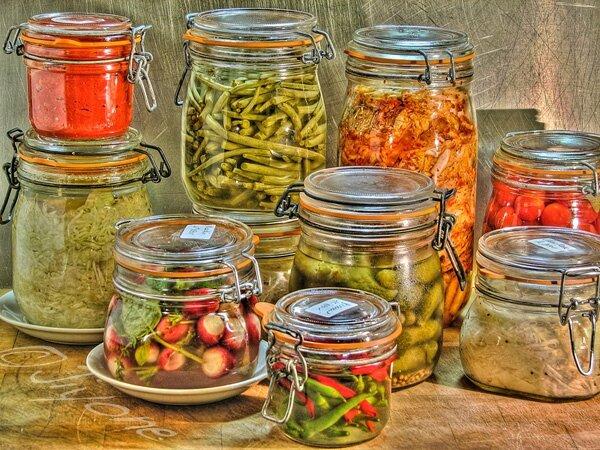 bocaux de fermentation
