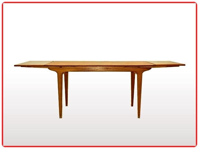 table teck 1960 vintage scandinave