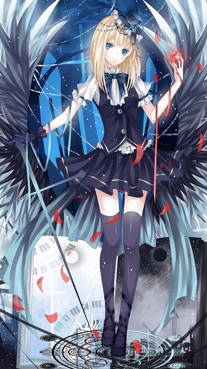 Wallpaper Anime Wanita Berambut Pirang Manga Anime Girls Wallpaper Hd Wallpaperbetter
