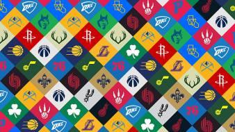 NBA, basketbol, spor, logo, HD masaüstü duvar kağıdı