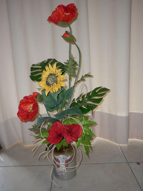 Composition Florale Divers Supports Les Crations Dco