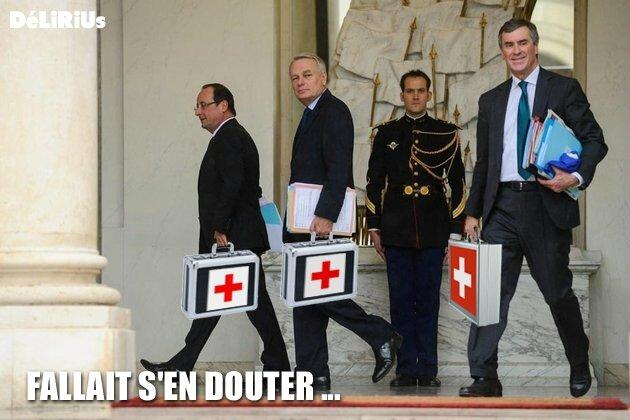Cahuzac Hollande Ayrault DéLiRiUs