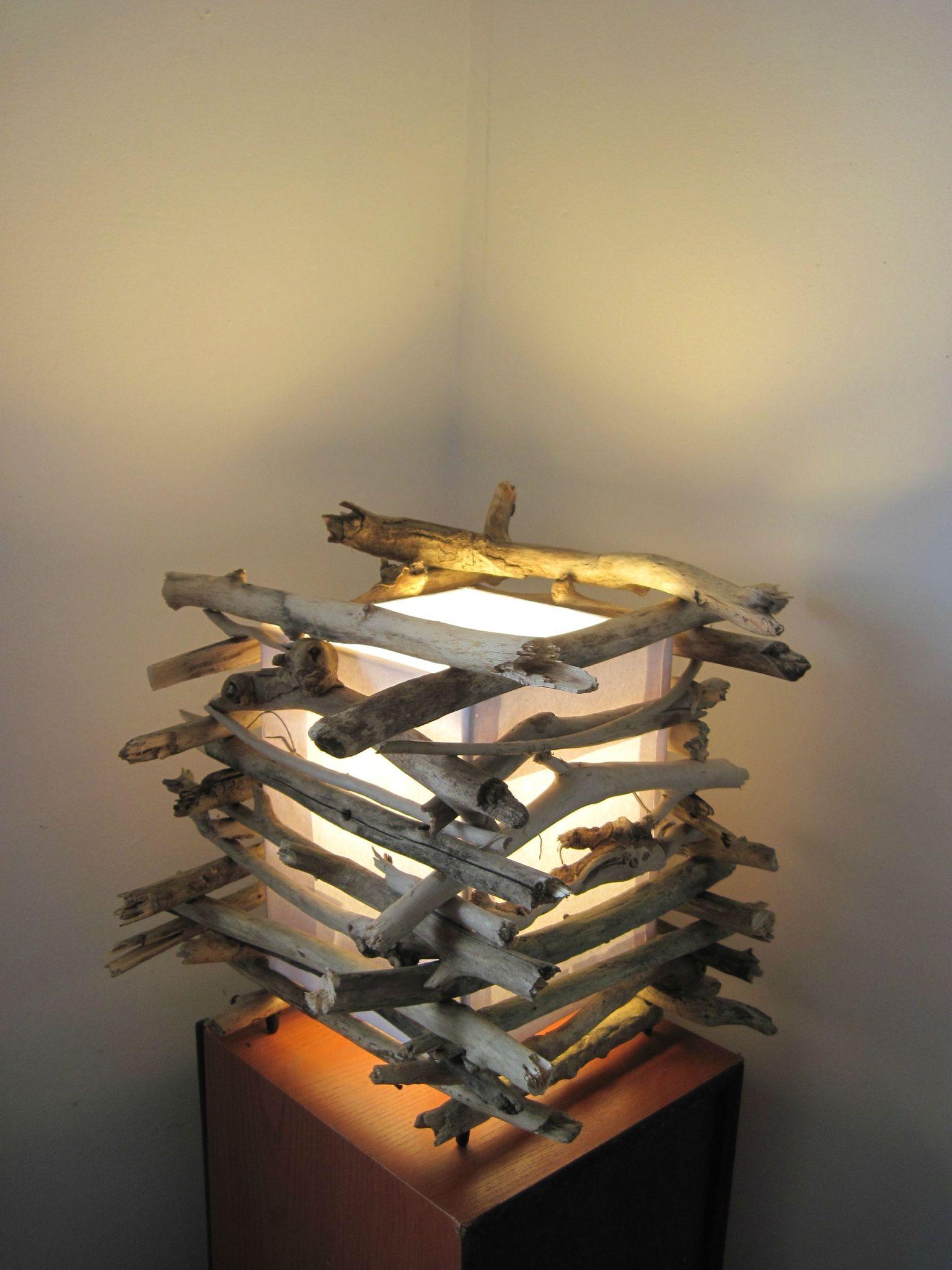 1re Lampe Pos Carr En Petit Bois Flott 02 Dcor Rcup