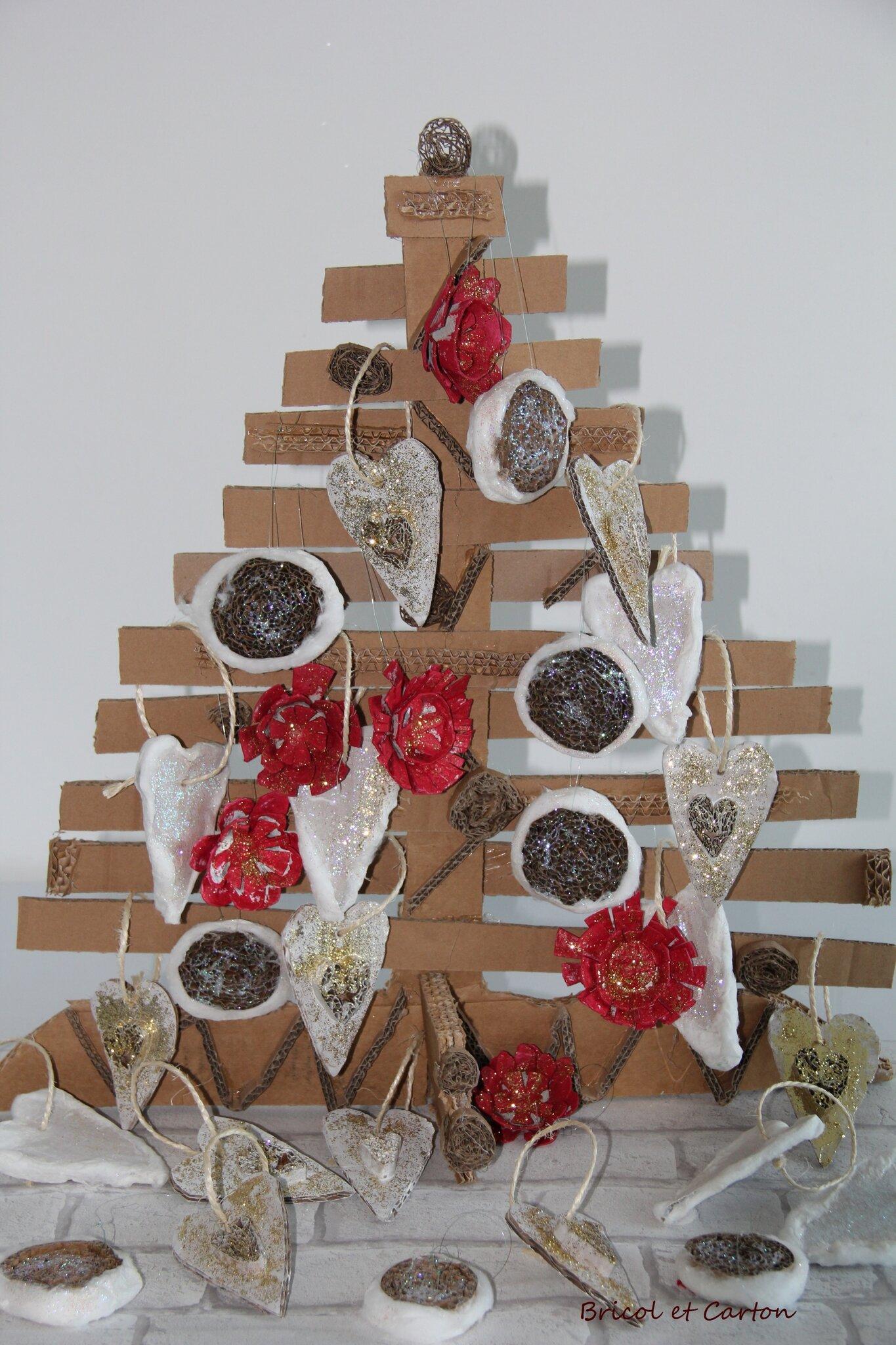 Decoration De Noel Fait Main En Carton