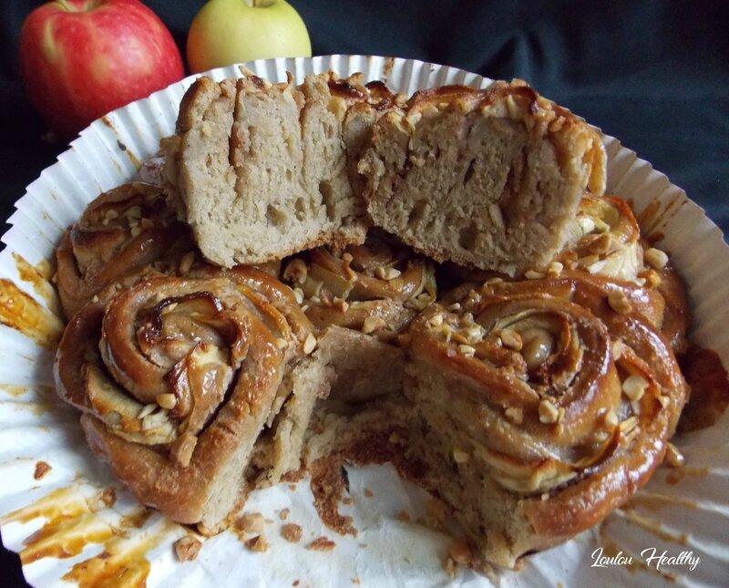 chinois rose aux pommes et beurre de cacahuète5
