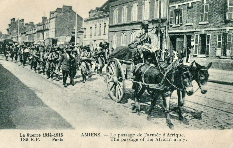 traversée Amiens Armée d'Afrique