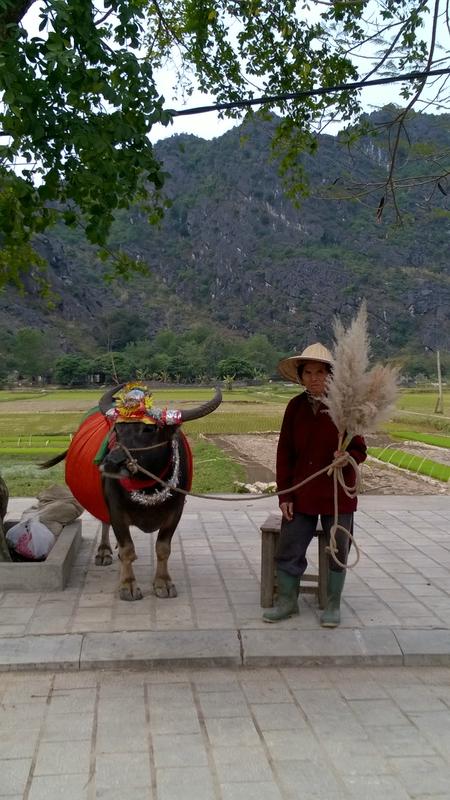 Un paysan dans le costume tradidionnel