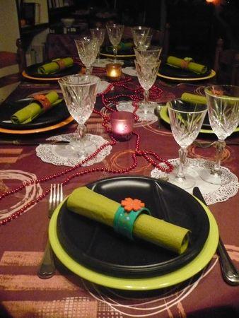 Deco Table Reveillon Free Un R Veillon Du Nouvel An Rouge