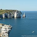 Un weekend en normandie, entre mer et romans policiers...