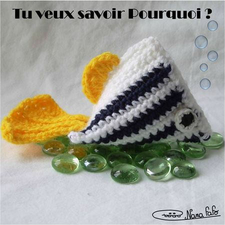 Poisson Berlingot Crochet 02