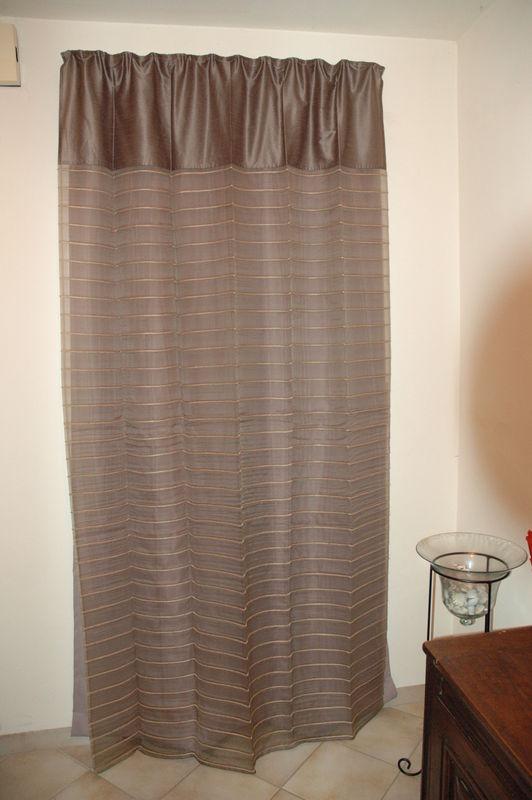 rideau porte d entree photo de cote
