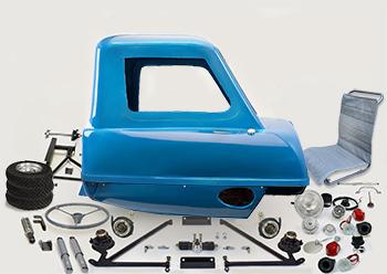 P.50 Kit reproduction replica peel p50 mk1 isle of man top gear capri blue