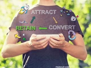 customer retention concept image on P5group.com