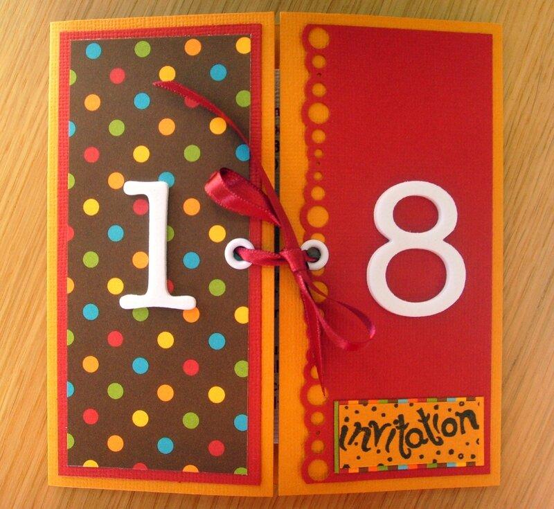 creer carte invitation d anniversaire idee
