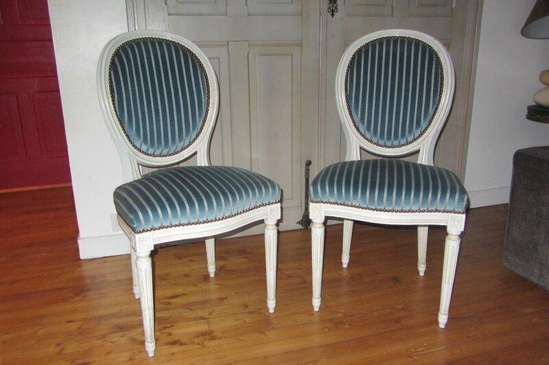 Tapisser Une Chaise Interesting Tapisser Une Chaise