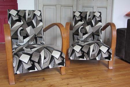 fauteuil art deco tous les messages